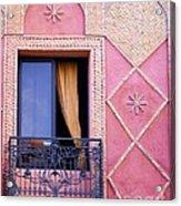 Marrakesh Balcony Acrylic Print