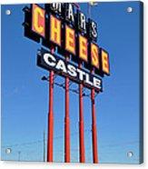Mars Cheese Castle Acrylic Print