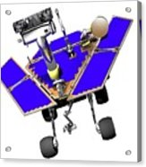Mars Exploration Rover Acrylic Print
