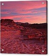 Mars In Nevada Acrylic Print