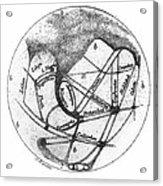 Mars: Schiaparelli, 1877 Acrylic Print