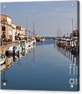 Marseillan Harbour Acrylic Print