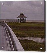 Marsh Boardwalk Acrylic Print