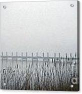 Marsh Dock Acrylic Print