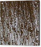 Marsh Grass Reflections Abstract 2 Acrylic Print