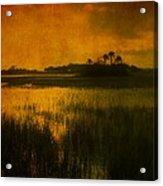 Marsh Island Sunset Acrylic Print