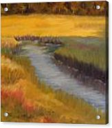 Marsh Mellow Acrylic Print