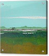 Marsh Pier Acrylic Print