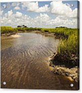 Marsh River Acrylic Print