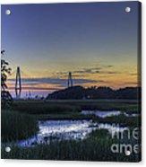 Marsh To Bridge Acrylic Print