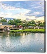 Marsh Walk Sunrise Acrylic Print