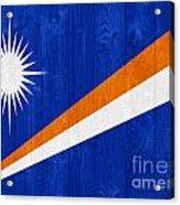 Marshall Islands Flag Acrylic Print