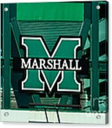 Marshall University Acrylic Print