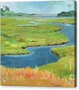 Marshes At High Tide Acrylic Print