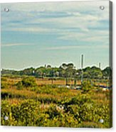 View Of St. Augustine's Cross Acrylic Print