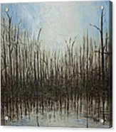 Marshy Parallels Acrylic Print