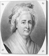 Martha Washington (1732-1802) Acrylic Print