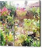 Martha's Garden Acrylic Print