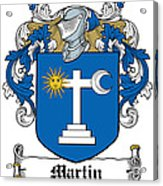 Martin Coat Of Arms Galway Ireland Acrylic Print