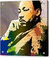 Martin Luther King Jr.  Acrylic Print