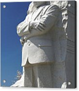 Martin Luther King Jr. Memorial Acrylic Print by Mike McGlothlen