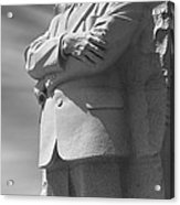 Martin Luther King Jr. Memorial - Washington D.c. Acrylic Print by Mike McGlothlen
