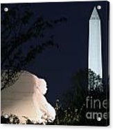 Martin Luther King Memorial Acrylic Print