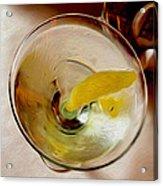 Martini 3 Acrylic Print