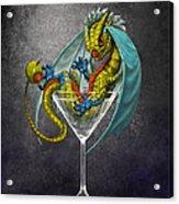 Martini Dragon Acrylic Print