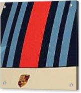 Martini Porsche Acrylic Print