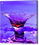 Martini Splash Acrylic Print