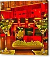 Martini Time Acrylic Print