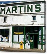 Martin's Acrylic Print