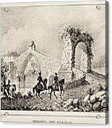Martorell. Puente Del Diablo Or Devils Acrylic Print