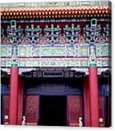 Martyrs' Shrine In Taipei Acrylic Print by Anna Lisa Yoder