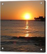 Marvelous Gulfcoast Sunset Acrylic Print