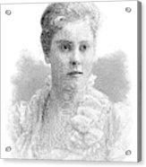 Mary Crowninshield Endicott Chamberlain Acrylic Print