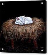 Mary Had A Little Lamb Acrylic Print