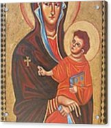 Mary Help Of The Romans Acrylic Print by Joseph Malham