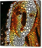Mary - Holy Mother By Sharon Cummings Acrylic Print