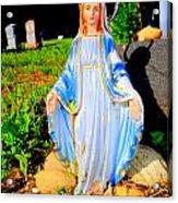 Mary In Sunlight Acrylic Print