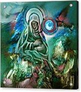 Mary Mother Of Jesus Acrylic Print