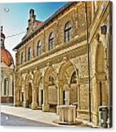 Mary Of Bistrica Shrine Architecture  Acrylic Print