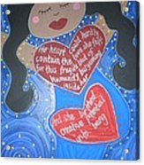 Mary Our Mother Acrylic Print