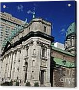 Mary Queen Of The World Cathedral Montreal Acrylic Print