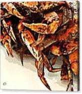 Maryland Crabs Acrylic Print