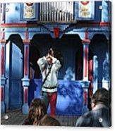 Maryland Renaissance Festival - A Fool Named O - 12123 Acrylic Print by DC Photographer