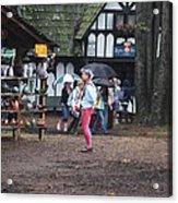 Maryland Renaissance Festival - A Fool Named O - 121231 Acrylic Print by DC Photographer