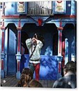 Maryland Renaissance Festival - A Fool Named O - 12124 Acrylic Print