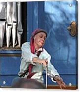 Maryland Renaissance Festival - A Fool Named O - 12129 Acrylic Print by DC Photographer